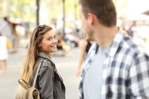 couple flirting, how to end an emotional affair