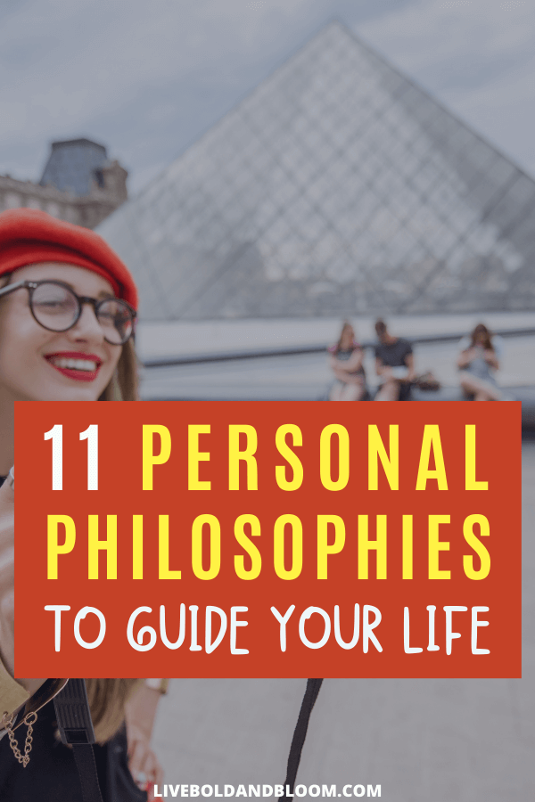 Every person has their own philosophy to follow based on their core values. Learn the best 11 personal philosophies for your life.