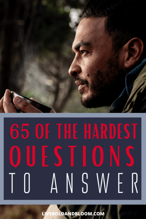 If you find difficult questions have a way of throwing you off balance, prepare yourself with these hard questions to answer so you can be ready.