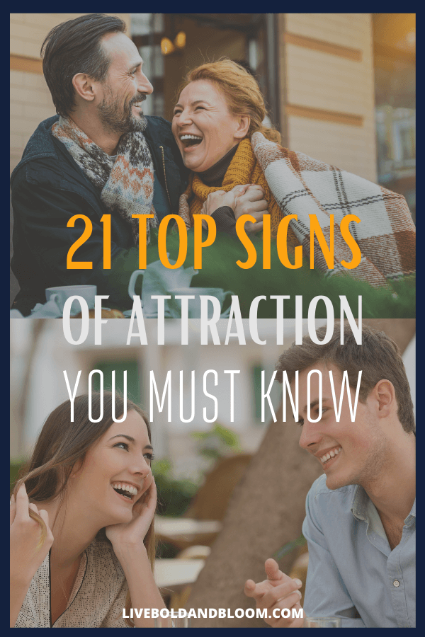 Men and women often struggle to pick up on the involuntary signs of attraction, leading to some awkward encounters and missed opportunities.  When you struggle to know whether someone is attracted to you, your confidence as a suitor starts to melt away. signs of attraction body language | signs of attraction men | signs of attraction crushes