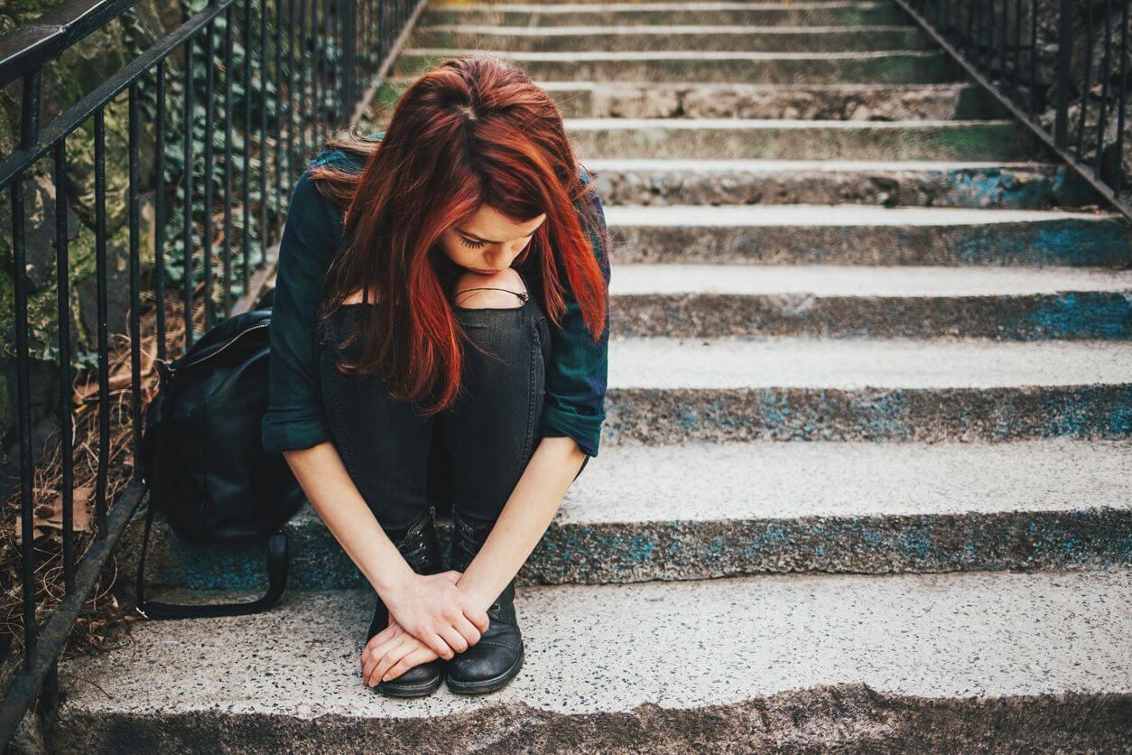 sad girl, Socially Inept