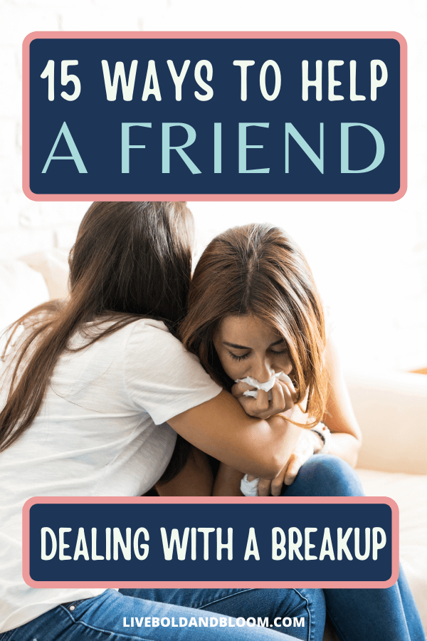 Being there for a friend through a breakup can feel like putting out a fire. Learn some key ways to help your friend deal with a break up by reading this post.