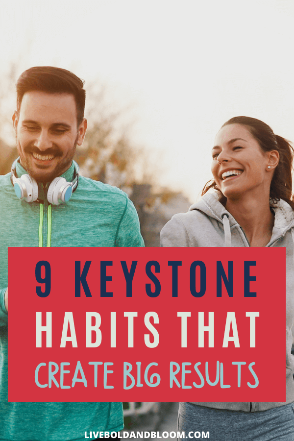 Big goals can be achieved when you learn about keystone habits. In this post, learn how these core habits will streamline achieving other goals.