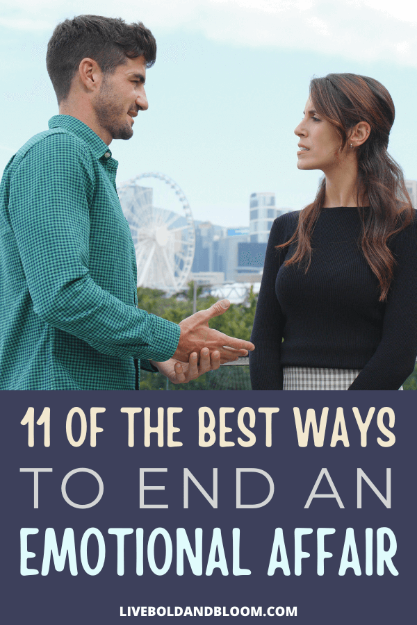Ending emotional affairs is definitely hard. Read this post to learn the best steps on how to end an emotional affair.