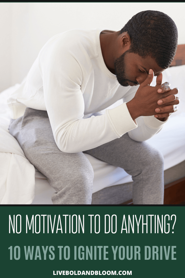 "Are you thinking, ""I have no motivation, so I'm just going to sit here and stare at my phone."" Does that describe how you feel about getting things done today? And you'd do just that except for the nagging little voice in your head that keeps telling you to get off your butt and do something productive. #motivation #personalgrowth #mindfulness #mindset #selflove"