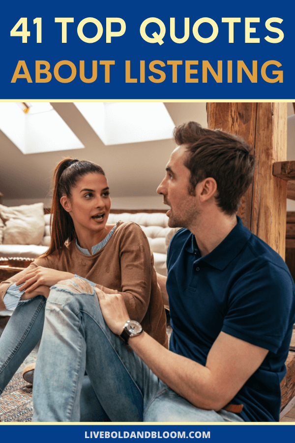 Listening to others is how you begin to really know them.  And by listening, I don't mean just keeping your food hole shut while they're talking. I mean listening closely to what they're saying so you can understand them. #listening #quotes #mindfulness #relationships #personalgrowth