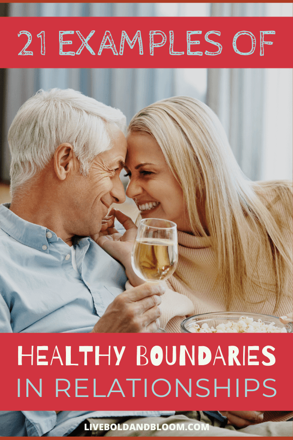 There are many types of boundaries in relationships, as well as boundaries in a marriage that can establish better communication and intimacy.  Some conversations may be easier than others, but it's better they occur with preparation rather than during the tense moments after an argument.  It may also be helpful to enlist a personal therapist or a couples therapist to discern where you most need them. healthy boundaries in relationships | healthy boundaries relationships dating | healthy boundaries relationships #dating #relationships #boundaries