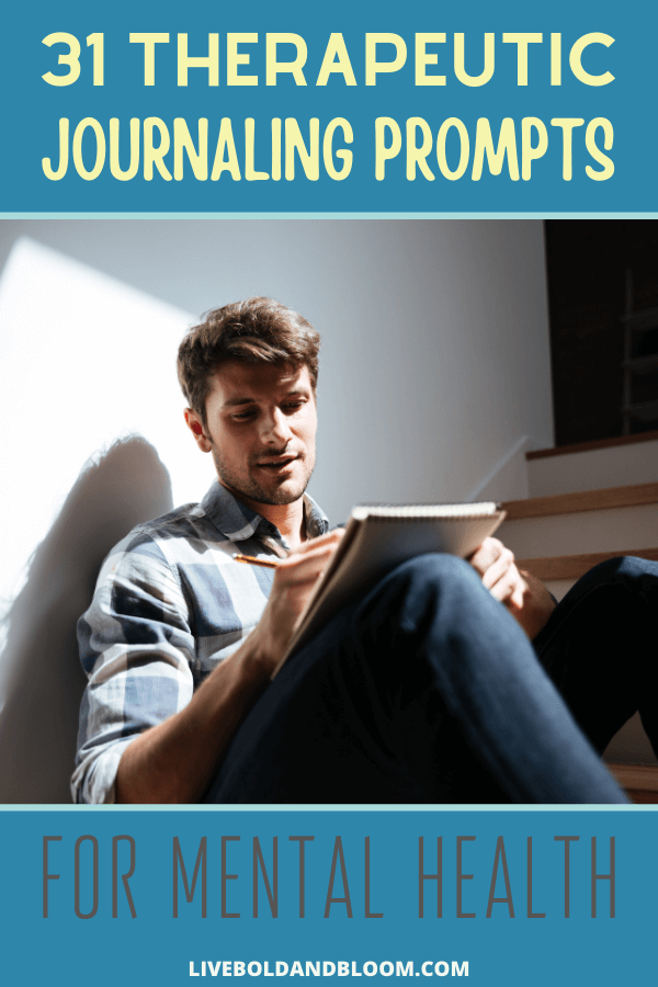 Therapeutic writing prompts can be a great way to cope with anxiety and stress. They can provide an outlet to vent about problems or challenges, and they can also provide a welcome distraction.  Some people use journaling as a grounding skill, while others can use it to lift their spirits and remind them of positive things.  #mentalhealth #journaling #journal #prompts #mindset