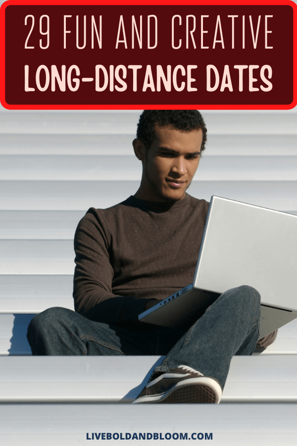 It's date night, and you and your significant other are having to spend it apart. What can you do to make the night special for you both, even if you can't touch?   You're looking for guidance on how to long-distance date. You want to show your sweetheart that the distance has only given you the chance to show your love in new, creative ways. #marriageisfun #relationshipgoals #relationship #menandwomen #dating