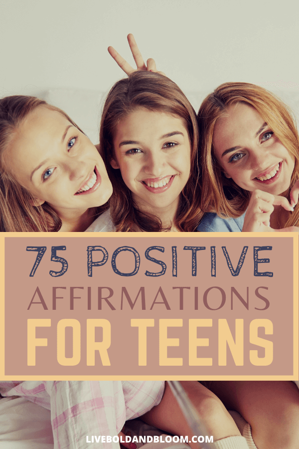 As teenagers, it is really hard to feel good about yourself due to all the negativity. Check our list of positive affirmations for teens that will help you avoid all these negativity.