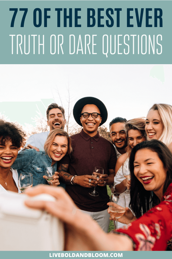 When you're planning a fun get-together with friends, why not consider playing truth or dare? #games #truthordare #relationships #quotes #fun