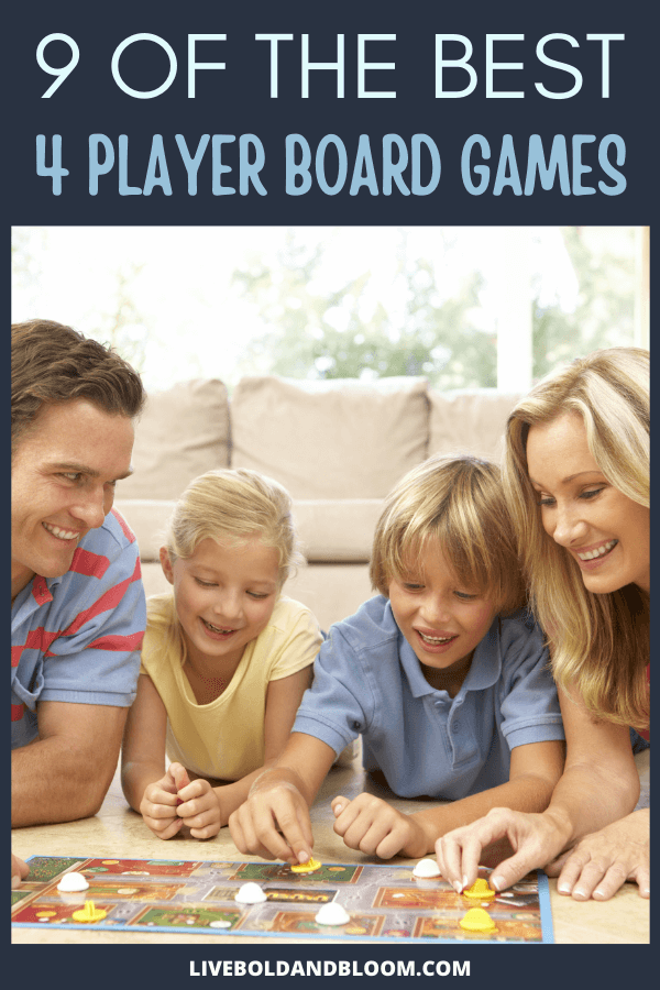 Four-player board games are for all the average-sized family that allows everyone to participate. We've put together a list of of the best 4-player board games for endless fun.