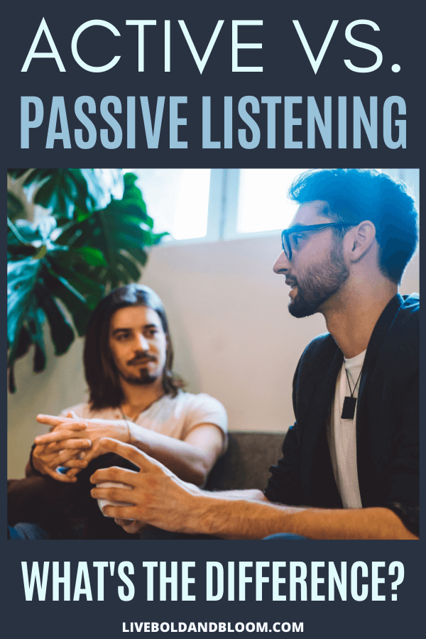 What are the main differences between active listening and passive listening? Read this article to find out the differences between the two.