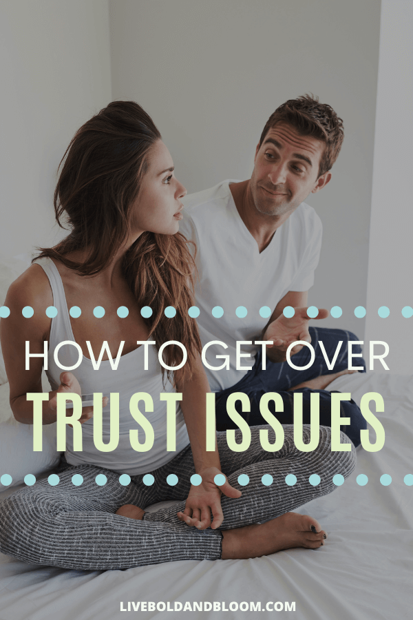 Until you recognize the signs of having trust issues, you can't take the necessary steps toward healing.  #trust #relationships #marriage #love #dating