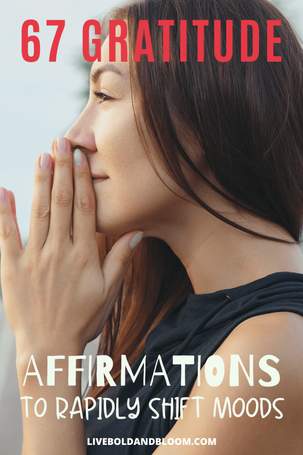 Using gratitude affirmations in your life helps you transform your mindset. We have collected a list of gratitude affirmations for you to start your day with.