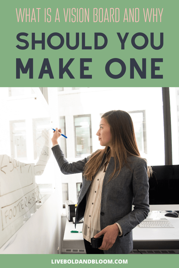 Did you wonder what a vision board is? Learn what it is, why you should make one, and how to use it to define your goals and reach them more quickly.