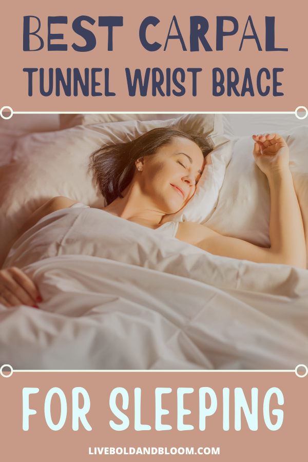 Suffering from carpal writ pain? Don't let it disrupt your sleep. We've rounded up the best carpal tunnel wrist brace for sleeping. Get the support you need to sleep well.