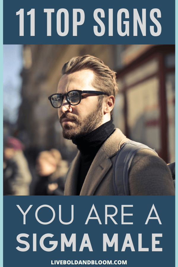 Do you know the signs of a man who is a sigma male? Look at this list of traits and it will help you understand this personality type much better.