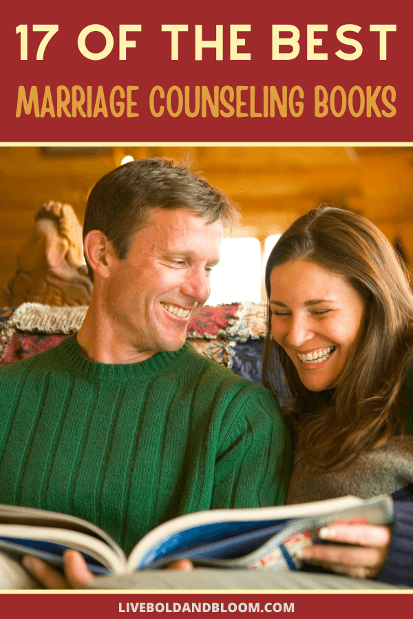 Marriage counseling books offer the same tactics taught by professional counselors. You can find ways to strengthen your marriage without spending a fortune on in-person counseling sessions.  #marriage #books #menandwomen #relationship #relationships