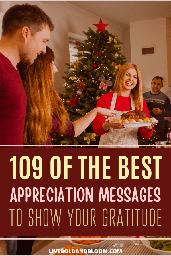 Let the people you care about know how grateful you are for them with a thoughtful message that expresses your feelings and appreciation towards them.