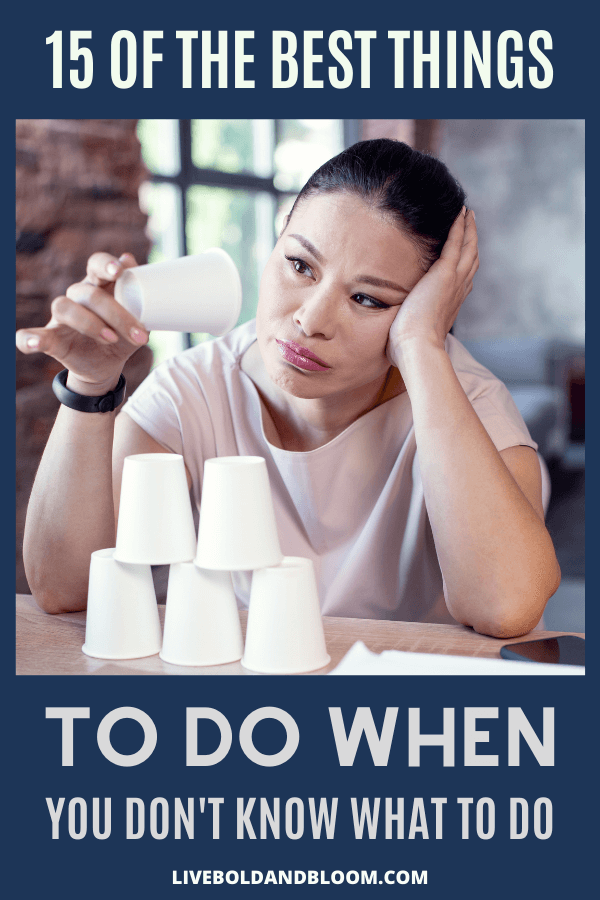 Ever have those days when you just don't know what to do by yourself? Read this post and learn the steps to make decisions or take mindful action.