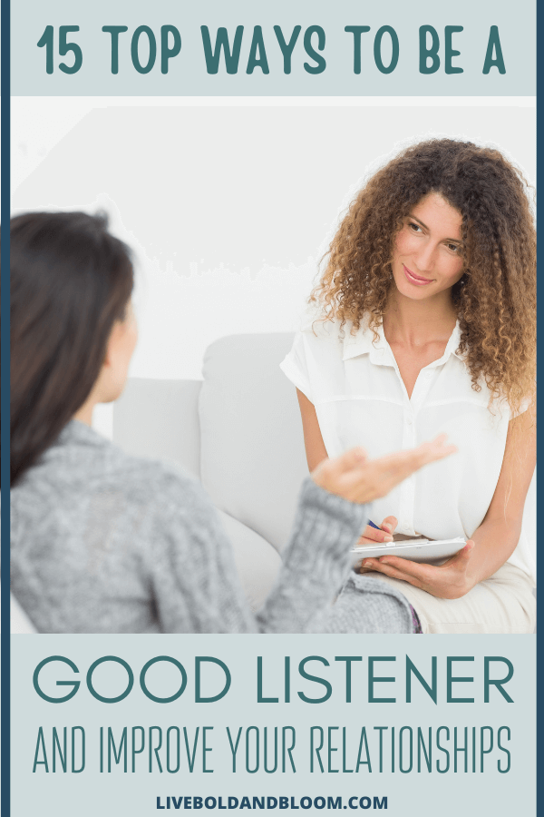 Today, it's hard to have focused conversations. Being a good listener is a great skill to have. Use these powerful listening tips in conversation.