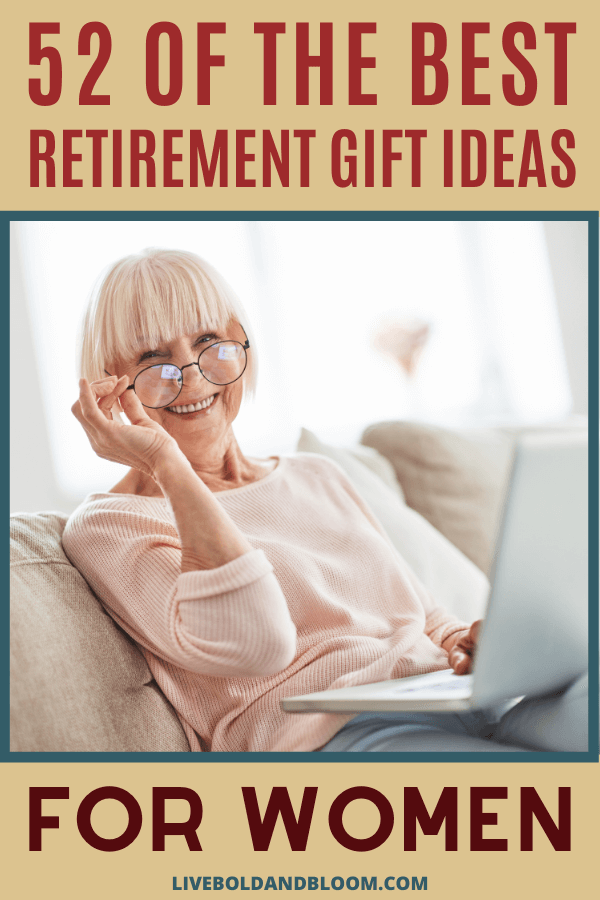 What do you get for a woman who's retiring?  Would she get a laugh out of the silly gag gift your neighbor gave you? Or would she rather get a gift basket with wine and chocolate?  The quick answer? Yes to the second thing. Always. #gifts #giftideas #retirement #mindfulness #mentalhealth