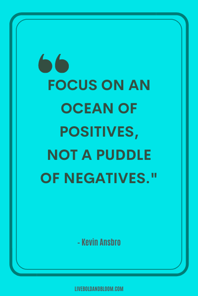 A quote by Kevin Ansbro Positive Energy Quotes