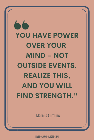 A quote by Marcus Aurelius positive energy quotes
