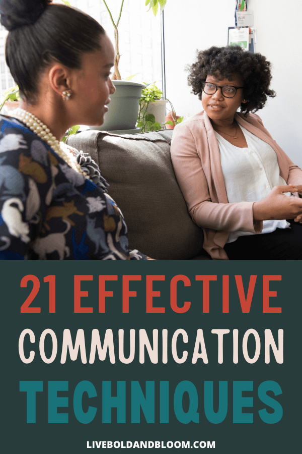 Do you struggle to communicate effectively with others -- either verbally or in writing? Maybe you're in need of some of the most effective communication techniques.