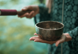 Singing bowl, mindfulness gifts
