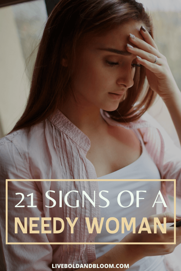 Is your girlfriend is a little too clingy? Check this post and see if your girl has these 21 signs of a needy woman.