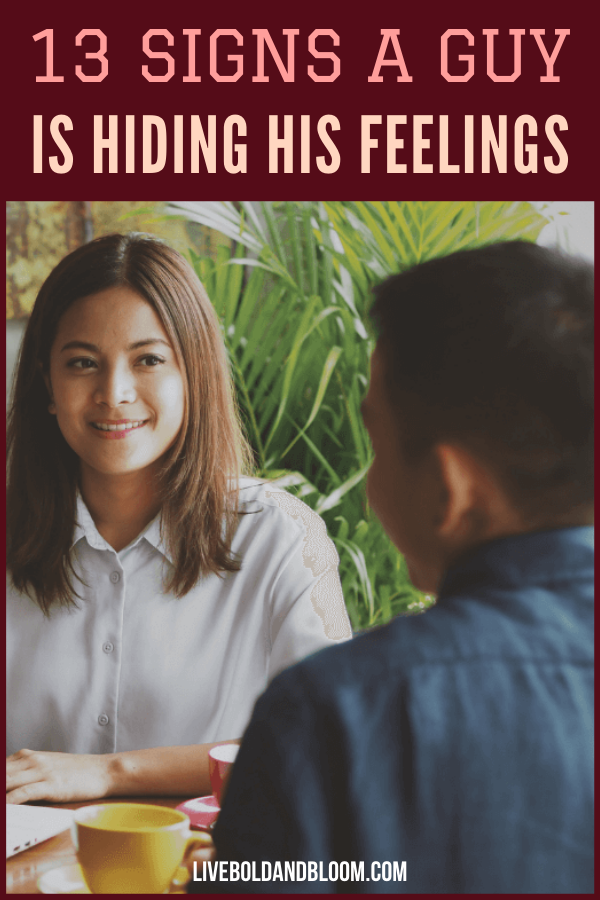 Are you wondering if this guy has feelings for you but is keeping it? Check these 13 telltale signs a guy is hiding his true feelings from you.