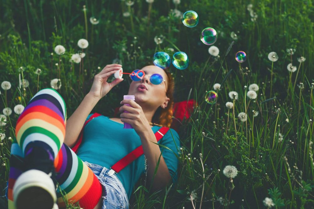 woman blowing bubbles, You Are Amazing Quotes