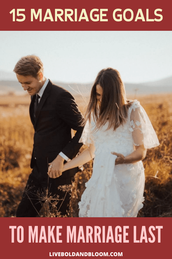 One of the secrets of lasting marriages is by setting goals. Check out this post and see the 15 marriage goals for marriage to last.