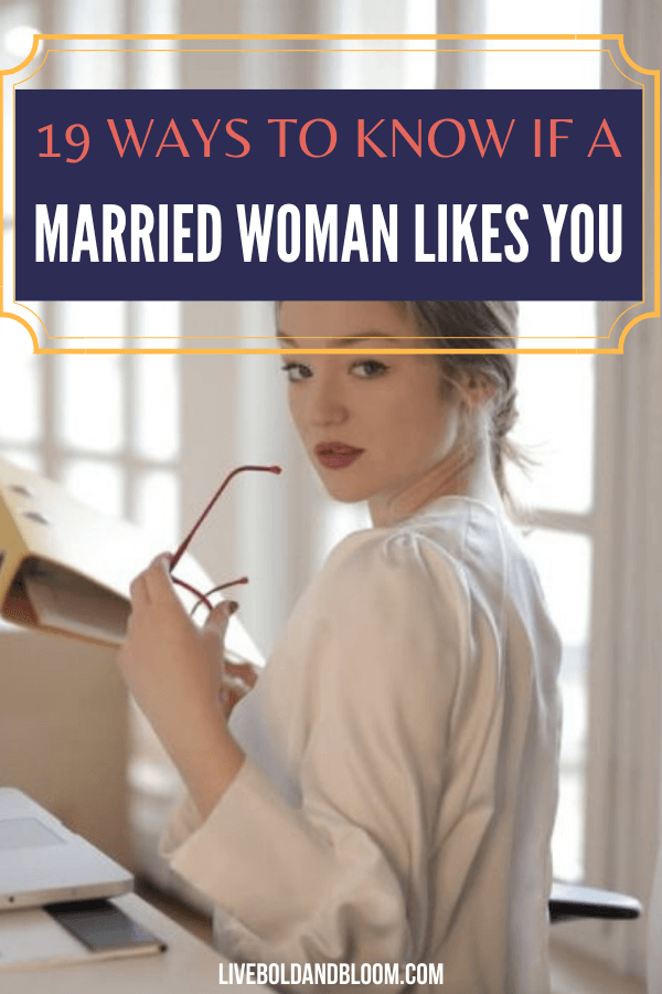 Being involved with a woman who's married can get messy. That's why knowing the signs that a married woman likes you more than a friend.
