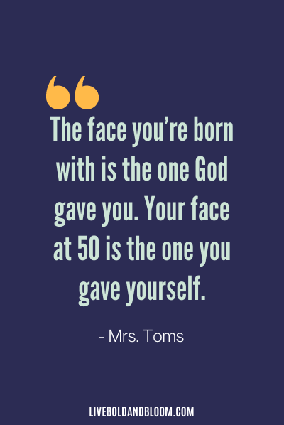 Funny Life Quote by Mrs. Toms