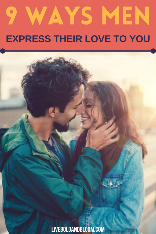 How do guys show their feelings to you? Read this post about how do men express their love and see their true emotions through these actions.