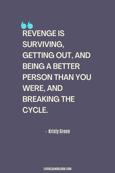 Emotional Abuse Quote by Kristy Green
