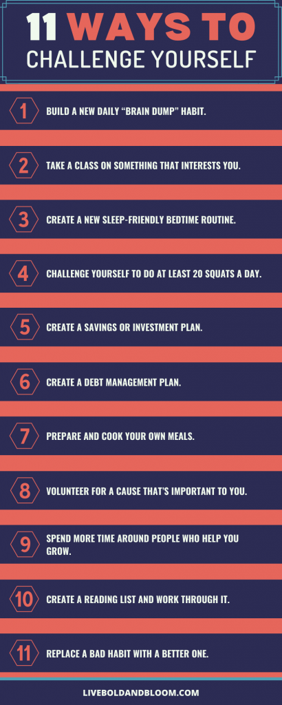 Ways To Challenge Yourself