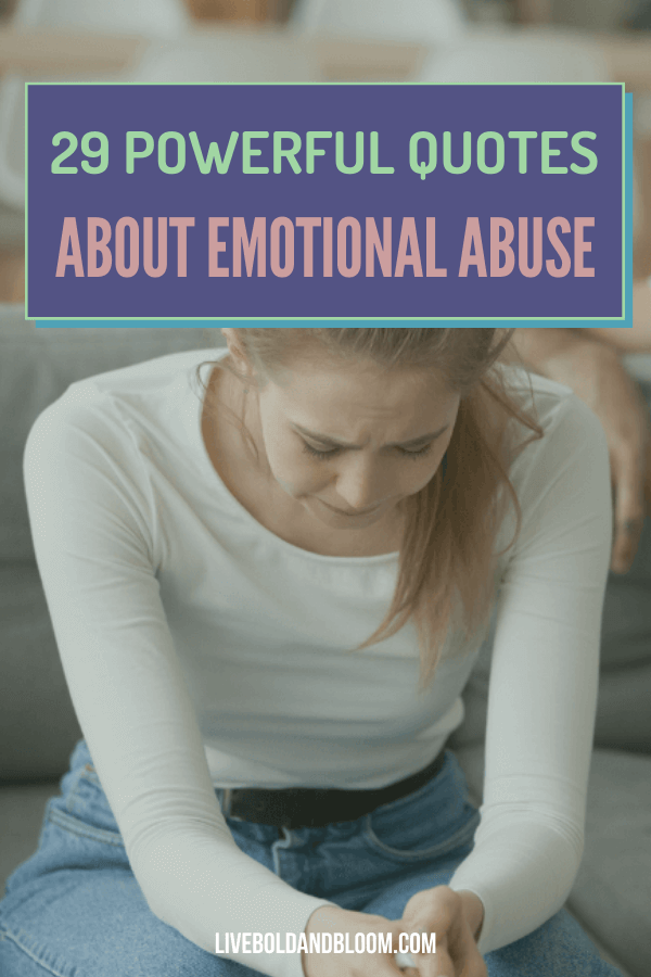 Add these emotional abuse quotes from experts to your daily routine for healing, curated in this post.