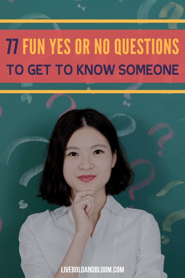 There is no better way in getting to know someone than asking questions. Read through this collection of funny yes or no questions you can definitely ask someone.