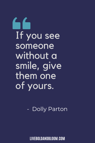 empath quote by Dolly Parton