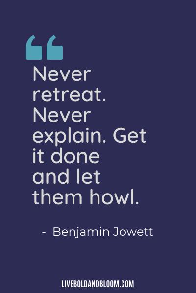 passive aggressive quote by benjamin jowett