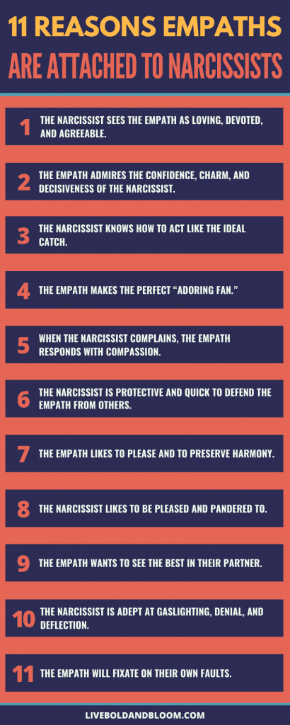 Reasons Empaths are Attached to Narcissists