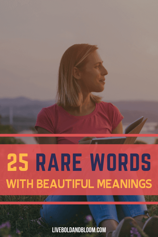 Finding the right word to describe what you feel in the present moment is challenging. in this post, we list some of the rare words with beautiful meanings for you to use.