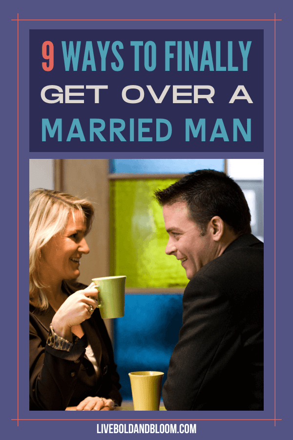 Loving a man committed to another is never a good thing and should be stopped immediately. Read on to learn how to get over a married man.