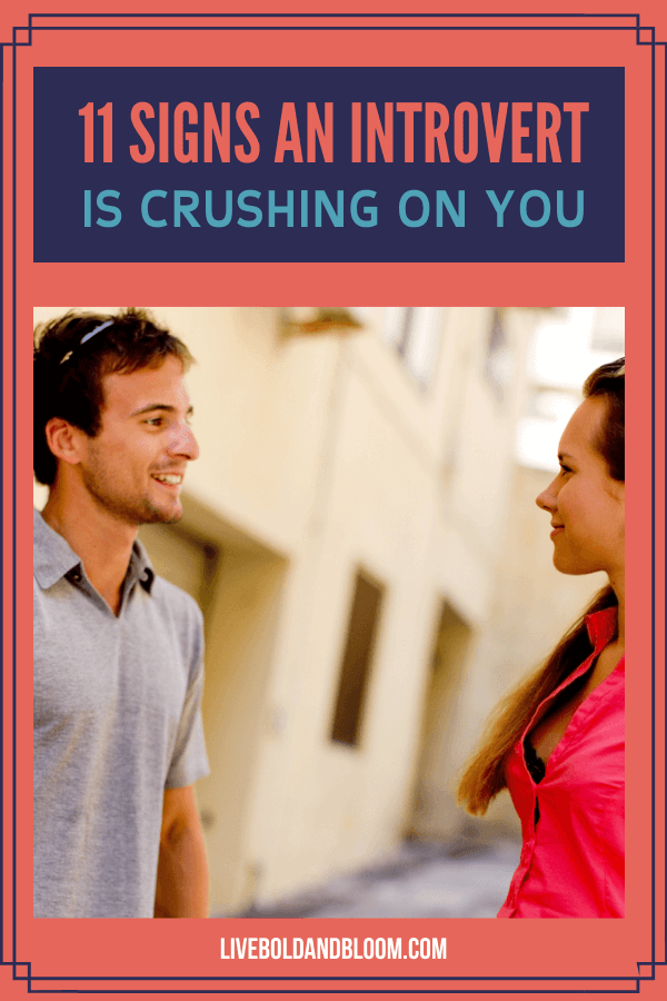 How does it feel to be crushing on an introvert, and do they feel the same to you? In this post discover the signs an introvert likes you.