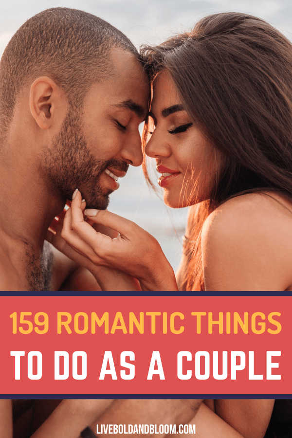 Our mega list of romantic things to do for your date night. Rekindle your romance by planning fun activities as a couple that brings you even closer together.