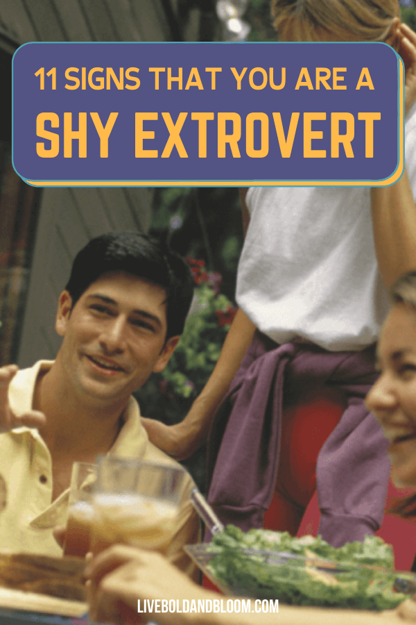 Is it possible for introverts to be shy? Learn all about the shy extroverted personality type in this post.